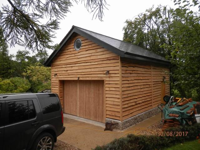 Example of Western Red Cedar Cladding